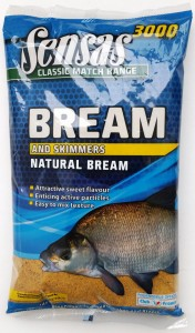 Zanęta 3000 NATURAL BREAM Sensas 1kg